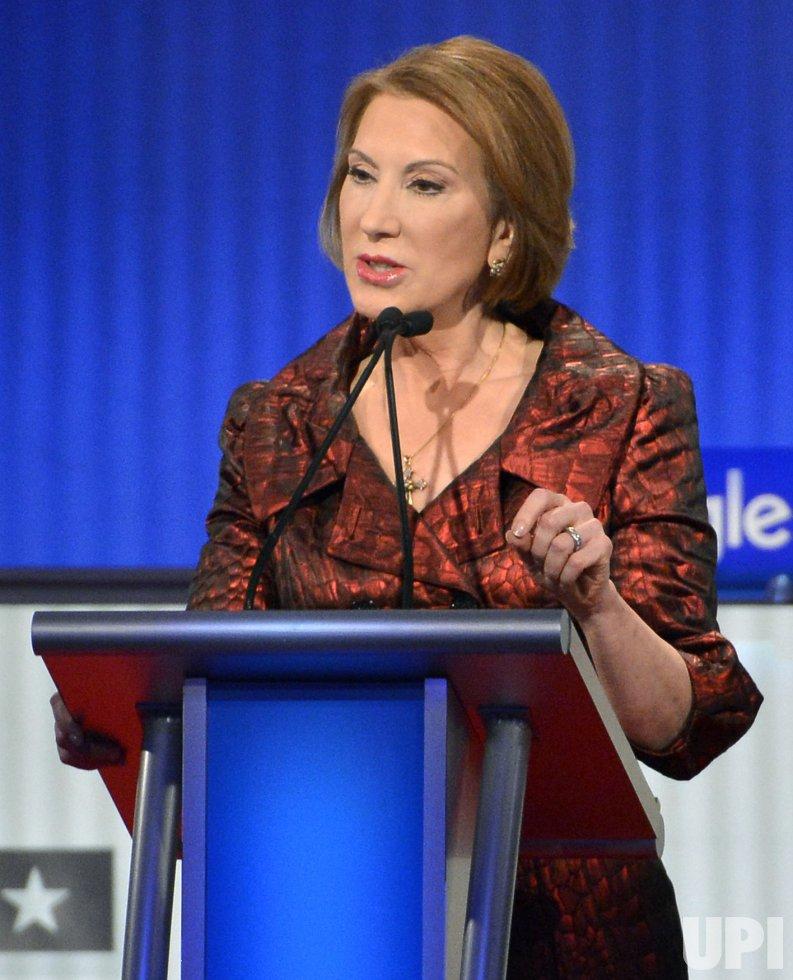 GOP presidential candidates attend undercard debate in Des Moines, Iowa