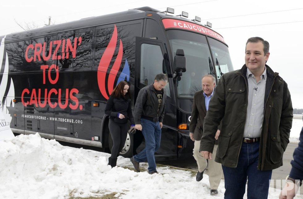 Sen. Ted Cruz attends campaign event in Boone, Iowa