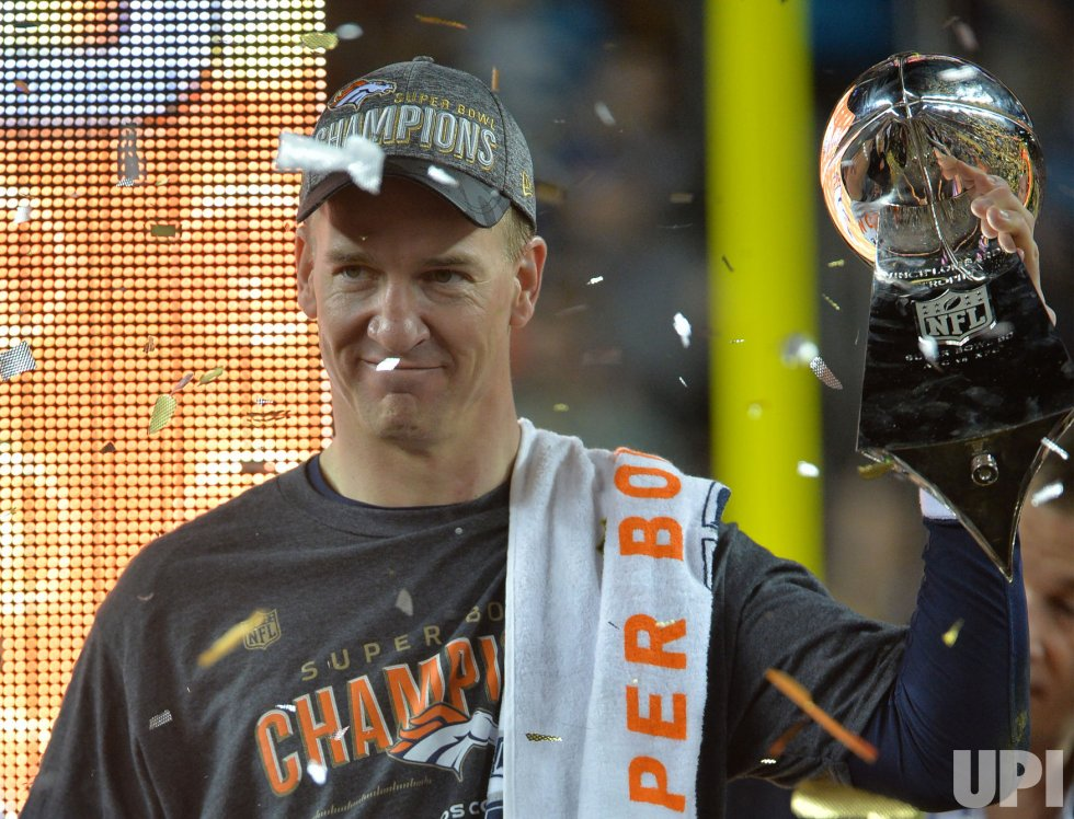 Broncos QB Manning savors second Lombardi trophy at Super Bowl 50