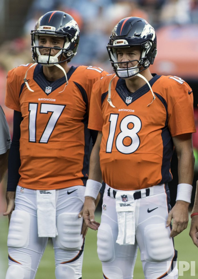 Broncos backup Brock Osweiler will start against the Chicago Bears in place of injured Peyton Manning