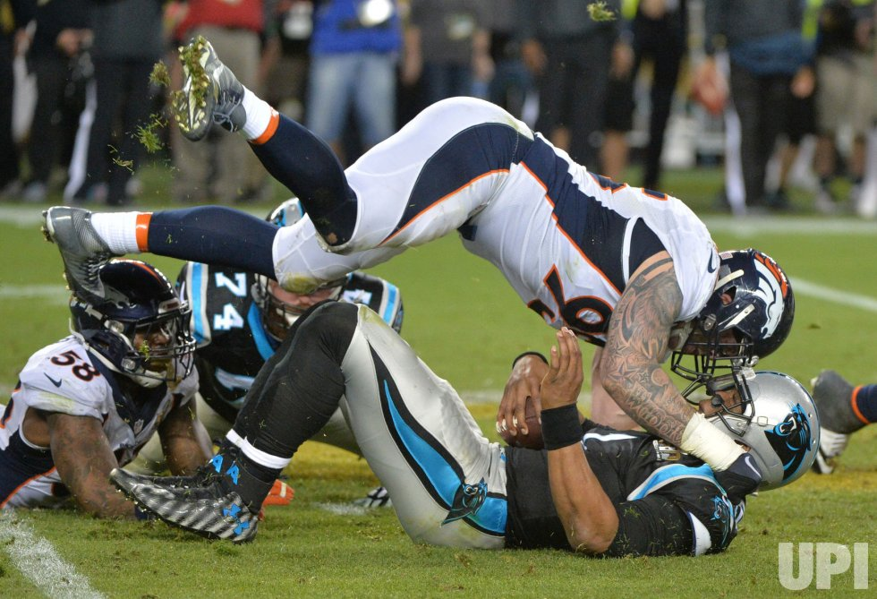 Panthers Newton sacked by Broncos