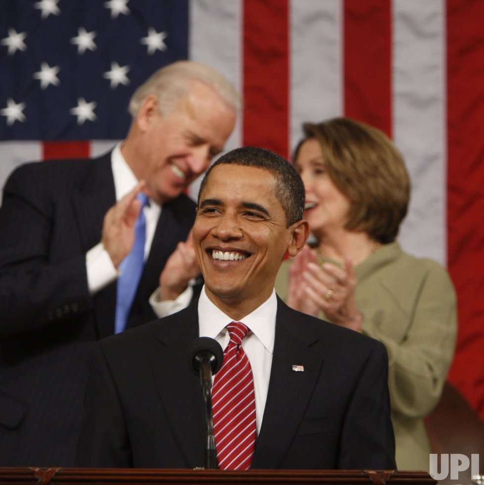 President Obama addresses Joint Session of Congress in Washington.