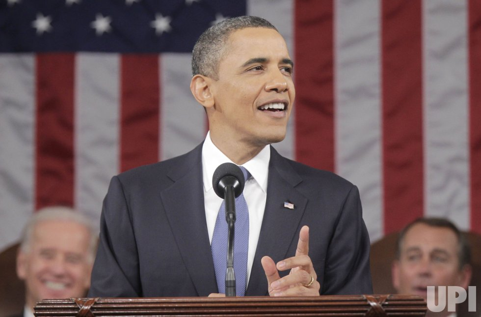 President Obama delivers State of the Union speech in Washington