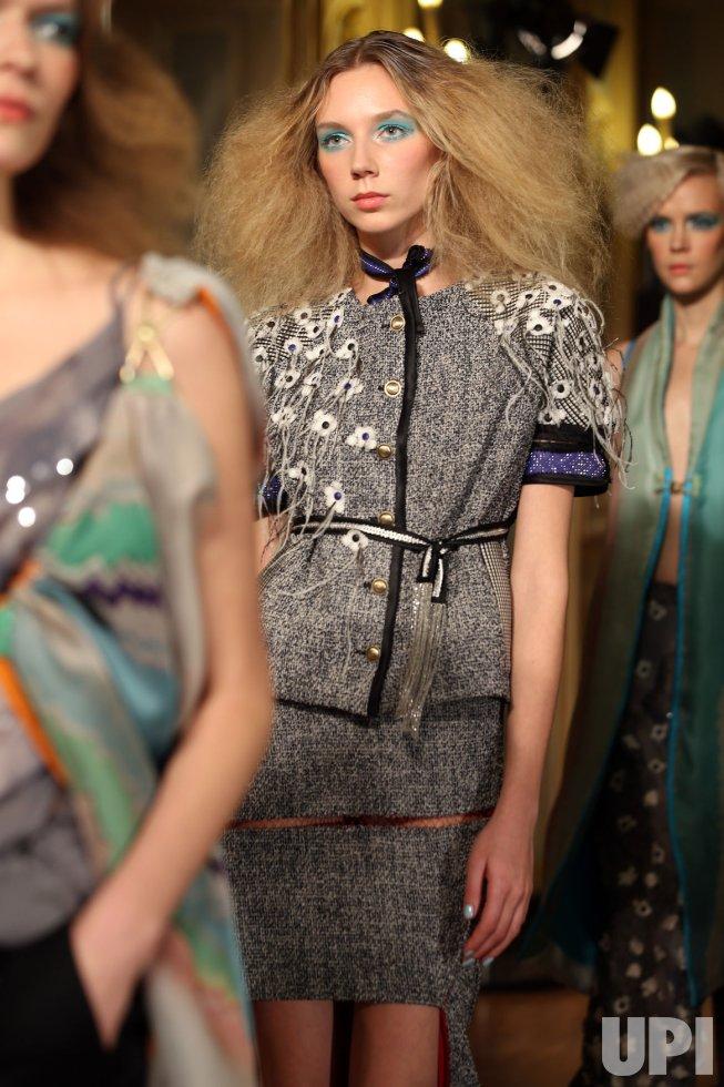 Antonio Ortega Fashion in Paris