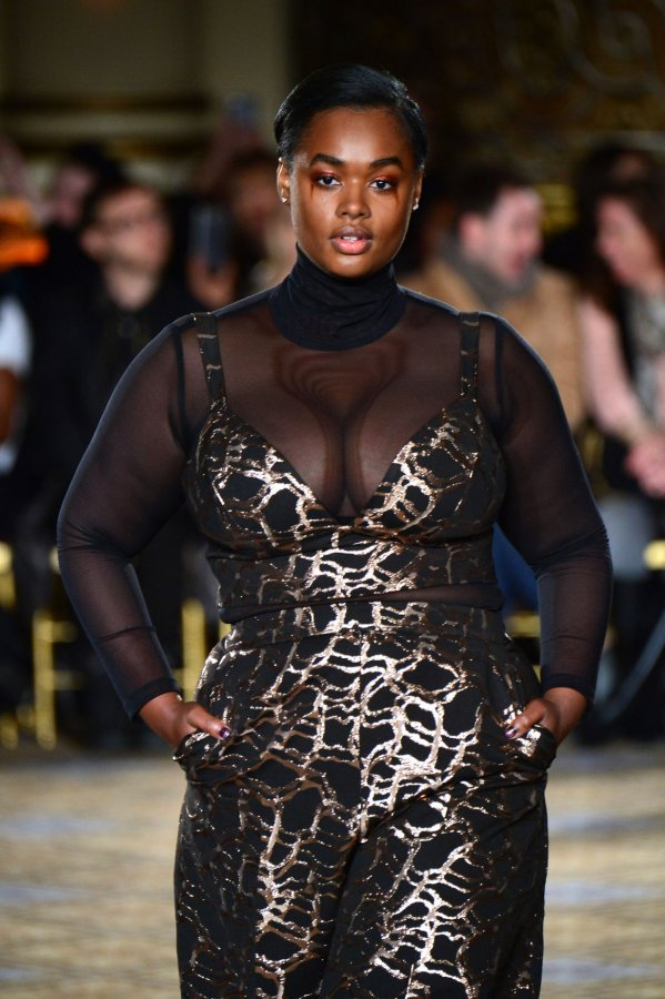 71d3dc648a4 NYFW  Christian Siriano brings body positivty to the runway - UPI.com