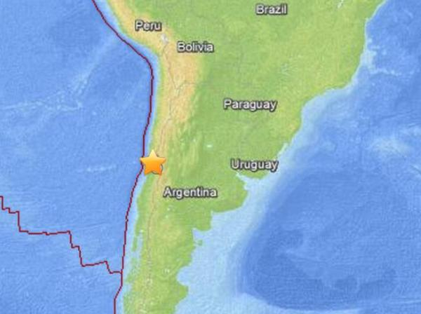 Chilean earthquake 6.4
