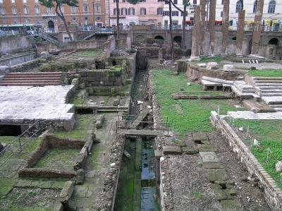 Caesar killing site