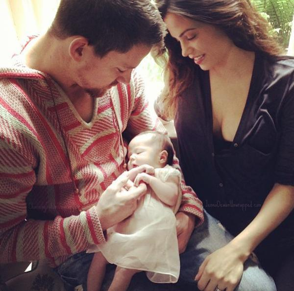 Channing Tatum on being a dad, 'poo' excitement