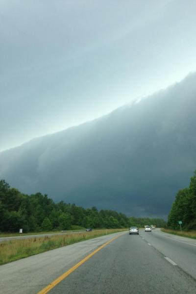 Derecho storms bears down on New England, Mid-Atlantic