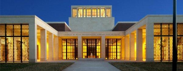 George W. Bush raises $500 million for library