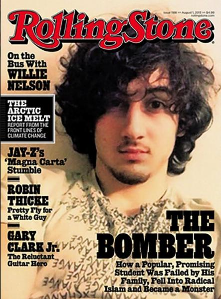 Rolling Stone 'Bomber' cover makes people really angry