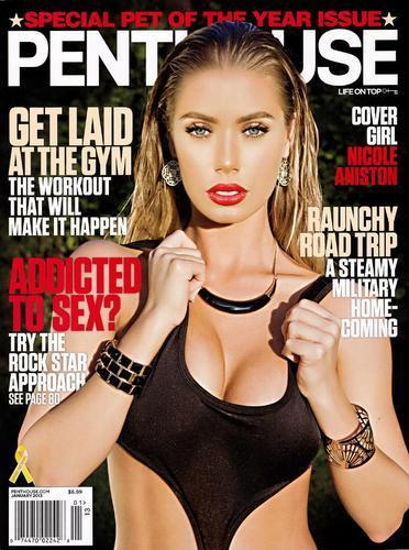 Nicole Aniston named 2013 Penthouse Pet of the Year