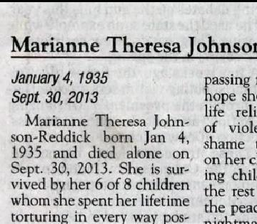 'Scathing' obituary goes viral, describes abusive, 'violent' mother