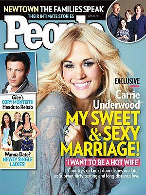 Carrie Underwood says she would quit music for her marriage