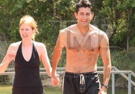 TMZ finally found Paul Ryan shirtless