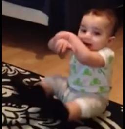 Meet the Gangnam Style baby [VIDEO]