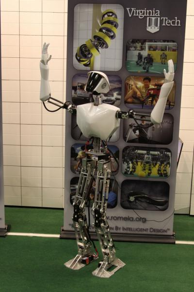 Navy developing humanoid robot