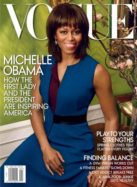 Michelle Obama's Vogue cover