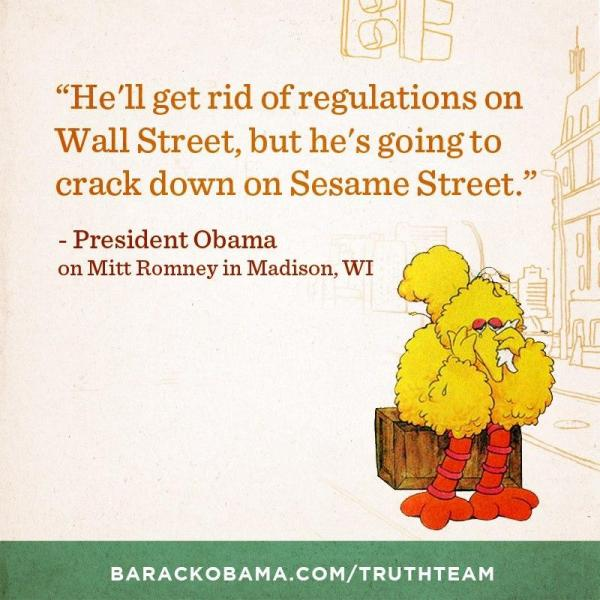Obama campaign mulls pulling Big Bird ad