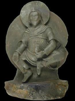 Meteor statue