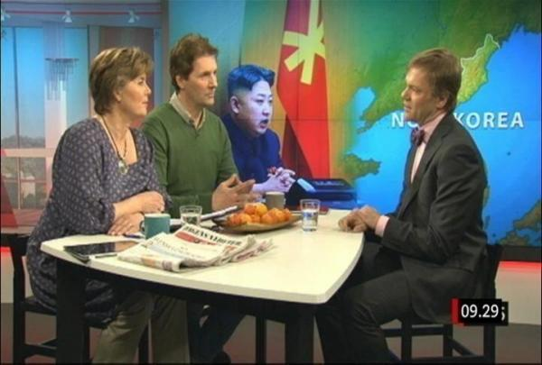 [PHOTO] Kim Jong Un photobombs Swedish morning show