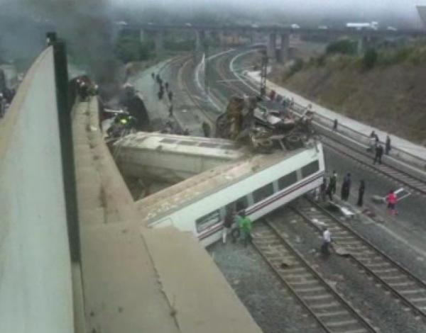 Driver of train that derailed in Spain charged