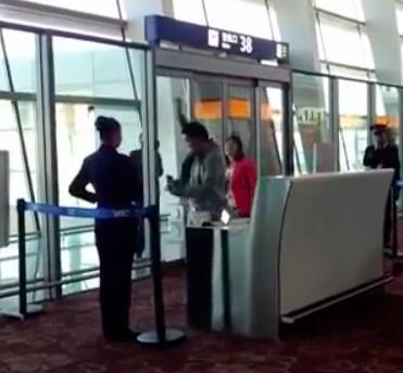 WATCH: Chinese Communist Party official who misses plane goes mad in viral video