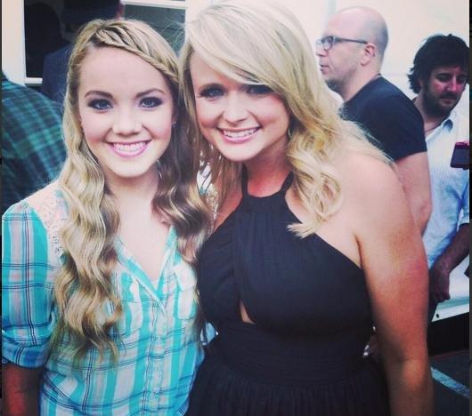 Danielle Bradbery starts recording in Nashville