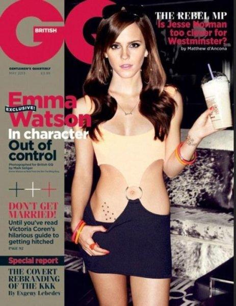 Emma Watson's tattoo is fake