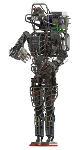 DARPA's Atlas humanoid robot makes public appearance