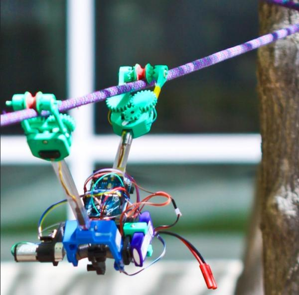 SkySweeper utility line robot