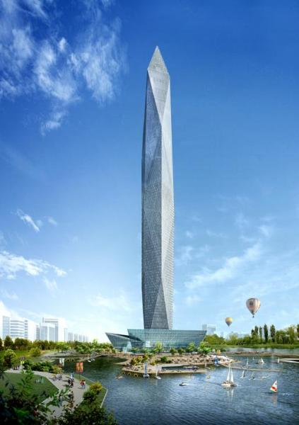 In South Korea, 'invisible' Tower Infinity will be an 'anti-tower'