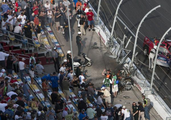 NASCAR fans to sue after being hit by debris at Daytona