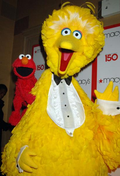 Big Bird costume sales spike