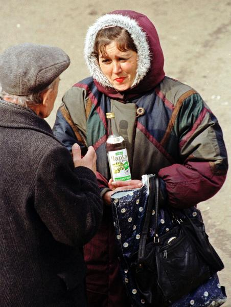 Average resident of Russian vodka capital consumes 102 liters annually