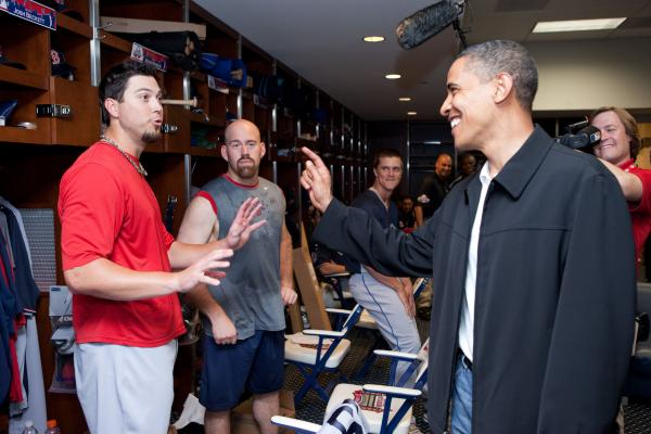 Boston (maybe) boos Obama over baseball joke