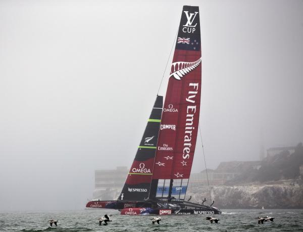 Oracle Team USA sanctioned ahead of America's Cup