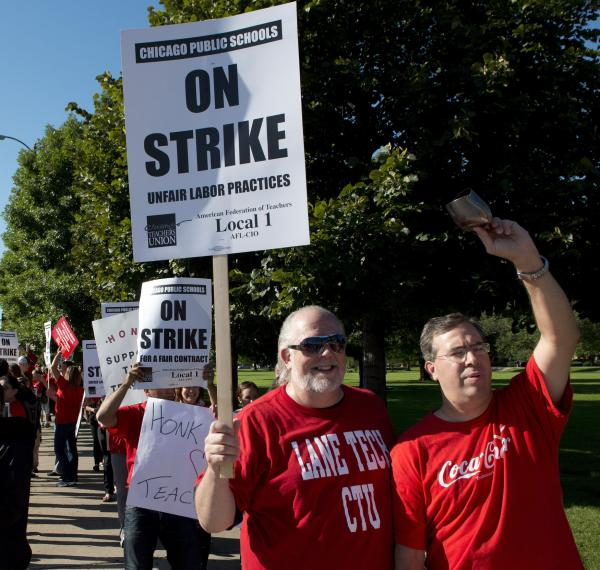 Day 2 expected in Chicago teachers' strike