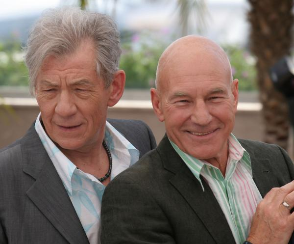 Patrick Stewart marries Sunny Ozell in ceremony officiated by Ian McKellen