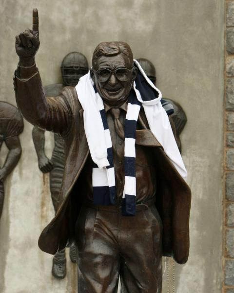 Paterno statue's fate left to president