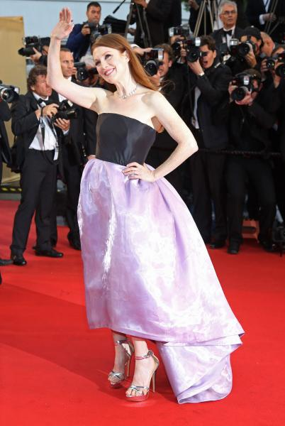 Julianne Moore jokes about cutting her toes off after Cannes's 'Toemageddon'