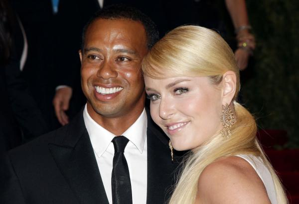 Elin Nordegren, Tiger Woods's ex, approves of Lindsey Vonn
