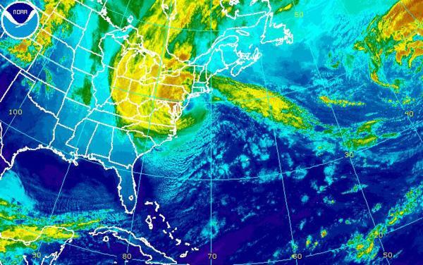 Hurricane Sandy makes landfall in N.J.