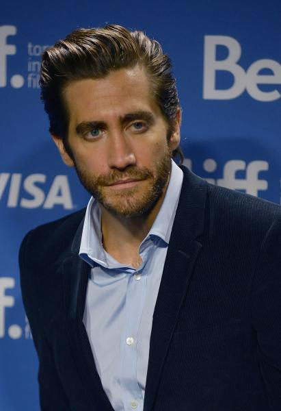Jake Gyllenhaal, Hugh Jackman promote 'Prisoners' at Toronto film fest