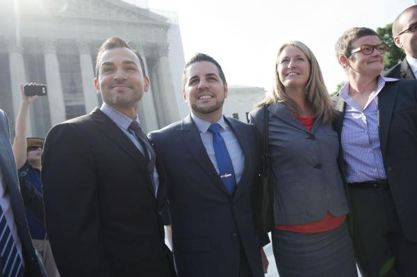 Prop. 8 plaintiffs get call from Obama on live TV [VIDEO]