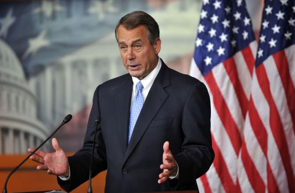 Boehner decries Obama, Senate Democrats on student loan inaction