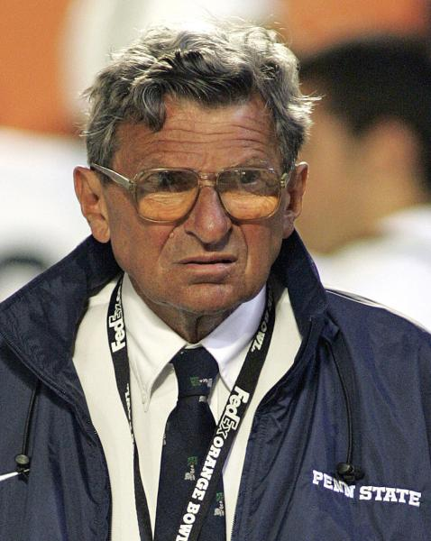 Book: Paterno cried after being fired