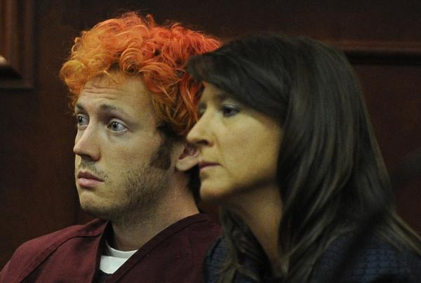 James Holmes stuck out his tongue in creepy cell phone self-portraits [PHOTOS]