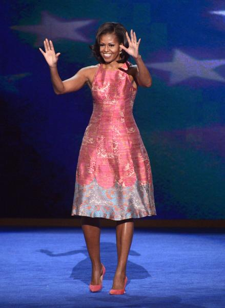 You can own your very own version of Michelle Obama's DNC convention dress