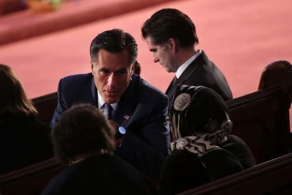Mitt Romney: President Obama gave 'superb' address at service